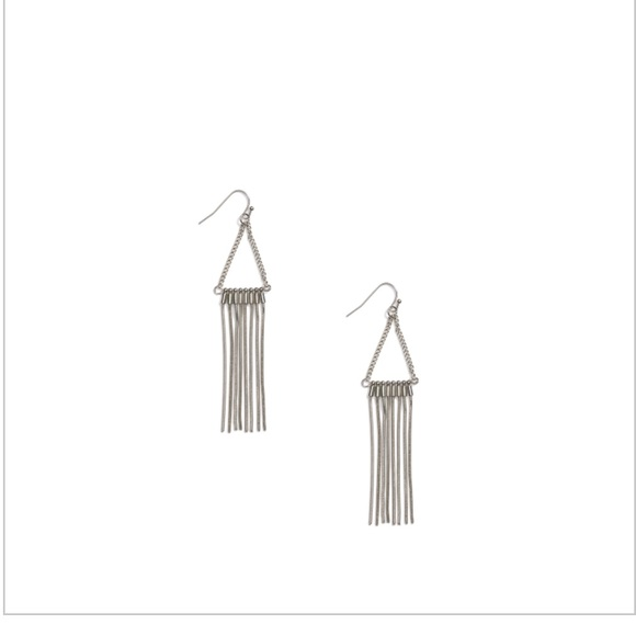 Jewelry - Jill Michael Fringe chain earrings